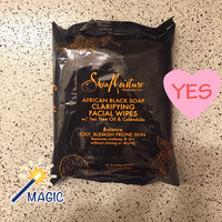 SheaMoisture African Black Soap Clarifying Facial Wipes uploaded by Krysteena L.