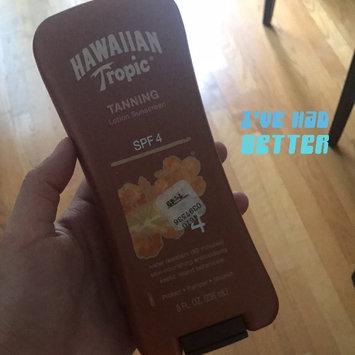 Photo of Hawaiian Tropic Lotion Sunscreen uploaded by Leidy Z.