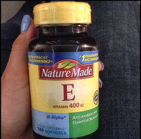 Nature Made 100% Natural Vitamin E uploaded by Emely T.