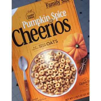 Photo of Cheerios Pumpkin Spice Cereal uploaded by Kansas B.