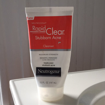 Photo of Neutrogena® Rapid Clear Stubborn Acne Cleanser uploaded by Felicia C.