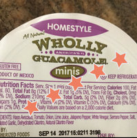 Wholly Guacamole® Spicy Homestyle Guacamole Minis 6-2 oz. Mini Cups uploaded by Thalia G.