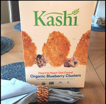 Photo of Kashi® Heart To Heart Oat Flakes And Blueberry Clusters Cereal uploaded by ♥ K.