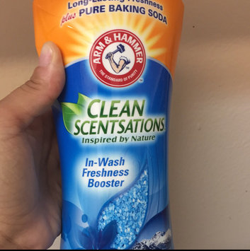 Photo of ARM & HAMMER™ Clean Sensations® Purifying Waters Glacier Bay--Alaska In-Wash Freshness Booster 24 oz. Bottle uploaded by Shanice W.