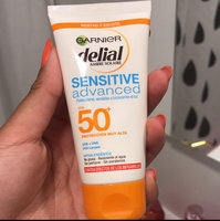 Garnier Ambre Solaire Sensitive Face Cream Advanced SPF50+ uploaded by 🌸 M.