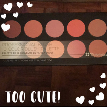 Photo of BH Cosmetics 10 Color Professional Blush Palette uploaded by Sharonda B.