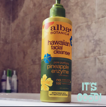 Alba Botanica Hawaiian Facial Cleanser Pore Purifying Pineapple Enzyme uploaded by Stephanie A.