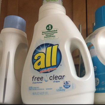 Photo of all free clear Laundry Detergent uploaded by Charleen A.