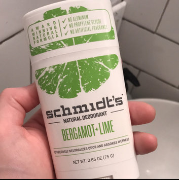 Photo of Schmidt's Bergamot + Lime Natural Deodorant uploaded by Alyssa M.