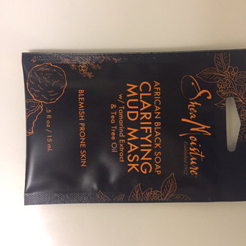 SheaMoisture African Black Soap Clarifying Mud Mask uploaded by Kylie R.