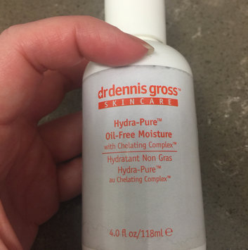 Photo of Dr. Dennis Gross Skincare Hydra-Pure™ Oil-Free Moisture uploaded by Ashley P.