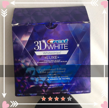 Photo of Crest 3D White Professional Effects Whitestrips uploaded by Kim G.