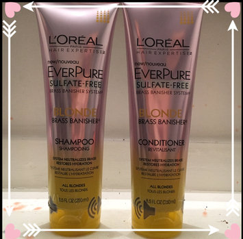 Photo of L'Oréal® Paris Hair Expertise™ EverPure Sulfate-Free Blonde Brass Banisher™ Shampoo 11.05 fl. oz. Tube uploaded by Samantha M.