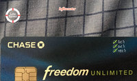 Chase Freedom Unlimited Credit Card uploaded by Nicole T.