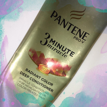 Pantene Pro-v 3 Minute Miracle Radiant Color Deep Conditioner, 6 oz uploaded by Codie A.