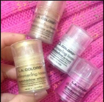 Photo of L.A. Colors Shimmering Loose Eyeshadow uploaded by Kaliza M.