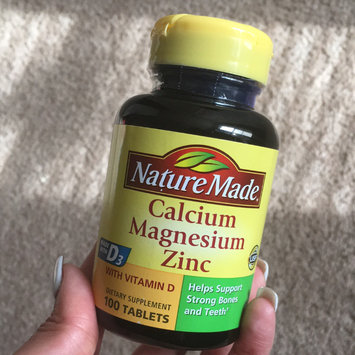 Photo of Nature Made Calcium Magnesium Zinc Tablets - 100 CT uploaded by Britnee J.