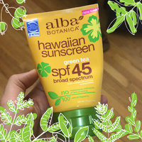 Alba Botanica Hawaiian Natural Sunscreen with Green Tea uploaded by Leidy Z.