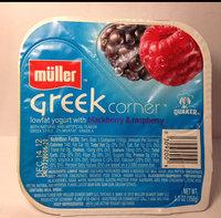 Muller® Greek 100 Blackberry & Raspberry Nonfat Yogurt uploaded by Channia L.