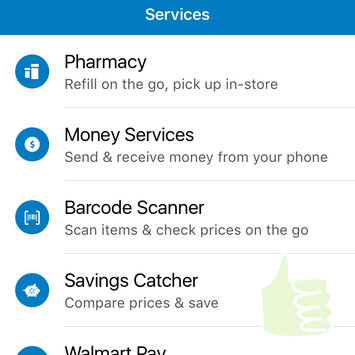 Photo of Walmart App uploaded by Briana J.