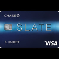 Chase Slate Credit Card uploaded by Tammy D.