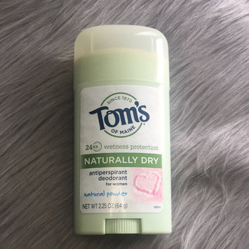 Photo of Tom's of Maine Women's Natural Powder Antiperspirant Stick Deodorant uploaded by Taylor C.