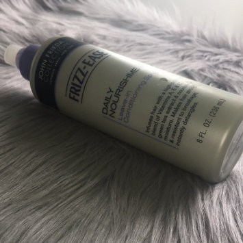 John Frieda Frizz-Ease Daily Nourishment Leave-In Conditioning Spray uploaded by Taylor C.