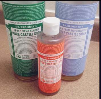 Photo of Dr. Bronner's 18-in-1 Hemp Tea Tree Castile Soap uploaded by Christina A.