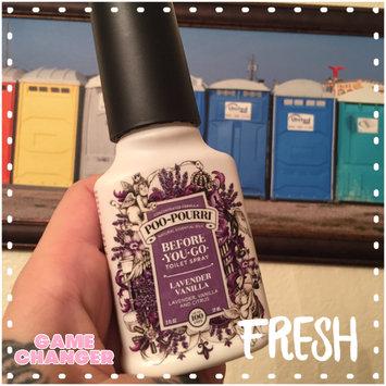 Poo Pourri Poo-Pourri Before-You-Go Toilet Spray, Lavender, Vanilla & Citrus, 2 oz uploaded by Charlie A.