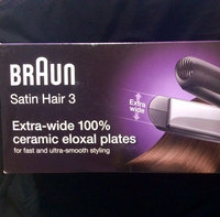 Braun Satin Hair Extra Wide Straightener uploaded by Soiyah Y.