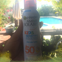 Garnier Ambre Solaire Sensitive Advanced SPF 50 Protecting And Hydrating Face Mist uploaded by Jihane S.