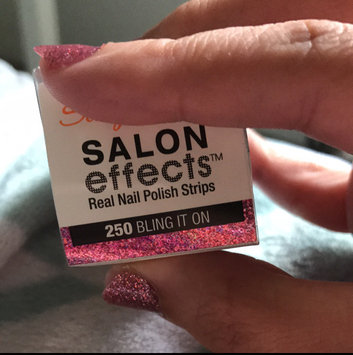 Photo of Sally Hansen® Salon Effects Real Nail Polish Strips uploaded by Cristina C.