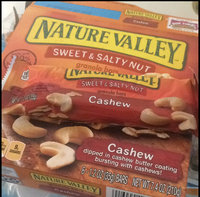 Nature Valley Sweet & Salty Nut Granola Bars Cashew uploaded by Anna M.