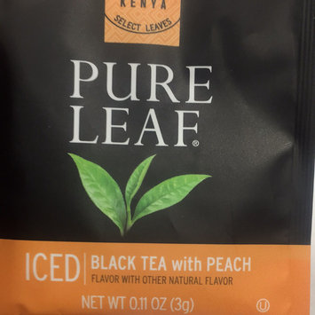Photo of Pure Leaf Black Tea with Peach in Pyramid Bags 16ct uploaded by Georgette M.