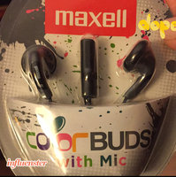 Maxell Color Buds With Mic - Stereo - Silver - Wired - Earbud - Binaural - Outer-ear (196146) uploaded by Linda M.
