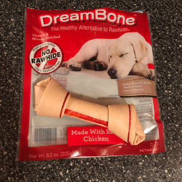 Photo of Dreambones DreamBone Vegetable and Chicken Medium Dog Chews 3 ct uploaded by Hope S.