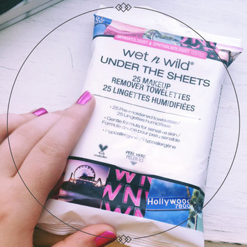 Wet 'n' Wild Wet n Wild Under the Sheets Makeup Remover Towelettes, Makeup Remover Wipes, 25 ea uploaded by shiloh S.