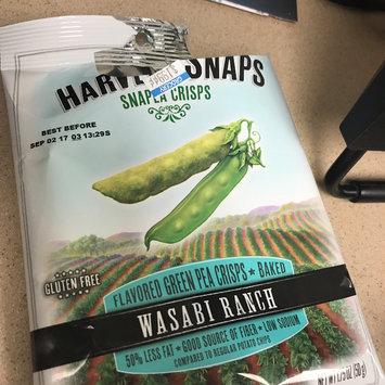 Photo of Harvest Snaps Snapea Crisps Lightly Salted uploaded by Chloe H.