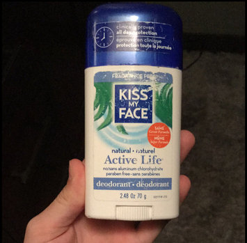 Photo of Kiss My Face Natural Active Life Aluminum Free Deodorant Stick uploaded by Abby