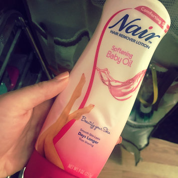 Photo of Nair Baby Oil 3-Minute Hair Remover Lotion uploaded by Bianca D.