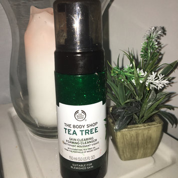 Photo of The Body Shop Tea Tree Skin Clearing Foaming Cleanser uploaded by Ellie N.