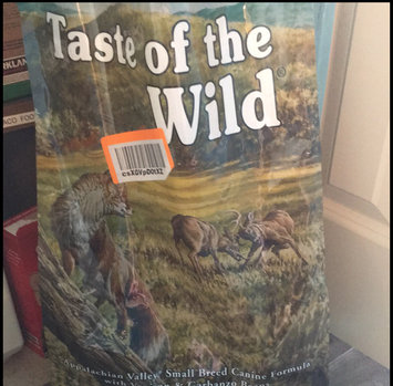 Photo of Taste of the Wild Grain Free Appalachian Valley Small Breed Recipe Dry Dog Food uploaded by Sarah M.