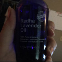 Radha Beauty Lavender Essential Oil - Big 4 Oz - 100% Pure & Natural Therapeutic Grade - PREMIUM QUALITY Oil From Bulgaria uploaded by stephanie L.