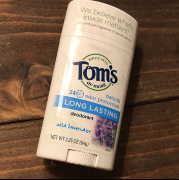 Photo of Tom's OF MAINE ANTIPERSPIRANT & DEODORANT Unscented Long Lasting Deodorant uploaded by Tristin F.