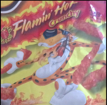 Cheetos Flamin' Hot Crunchy Cheese Flavored Snacks uploaded by Kelly L.