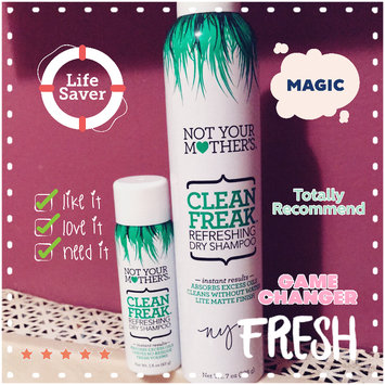 Not Your Mother's Clean Freak Refreshing Dry Shampoo uploaded by Lisa Marie O.