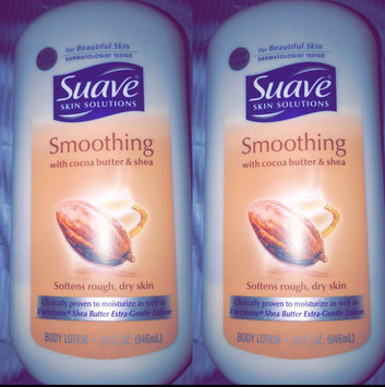 Photo of Suave® Smoothing with Cocoa Butter & Shea Body Lotion uploaded by Santa F.