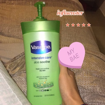 Vaseline® Intensive Care™ Aloe Soothe Lotion uploaded by Luisana M.