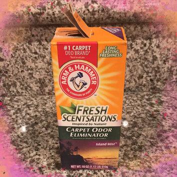 Photo of ARM & HAMMER™ Fresh Scentsations™ Carpet Odor Eliminator  Island Mist uploaded by Priscilla S.