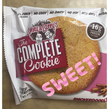 Lenny Larrys Lenny & Larry's - The Complete Cookie Snickerdoodle - 4 oz. uploaded by Liz H.